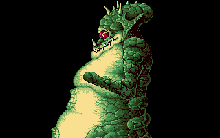 'Metroid 3' Lizard Kraid