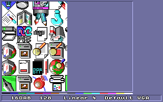 Icons from the Windows 95 cache 'shellicon'